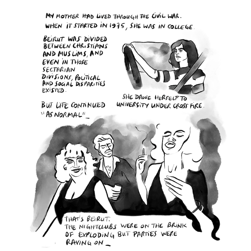 Graphic Novel 'Waiting for Normal,' Delacorte Review, image 2
