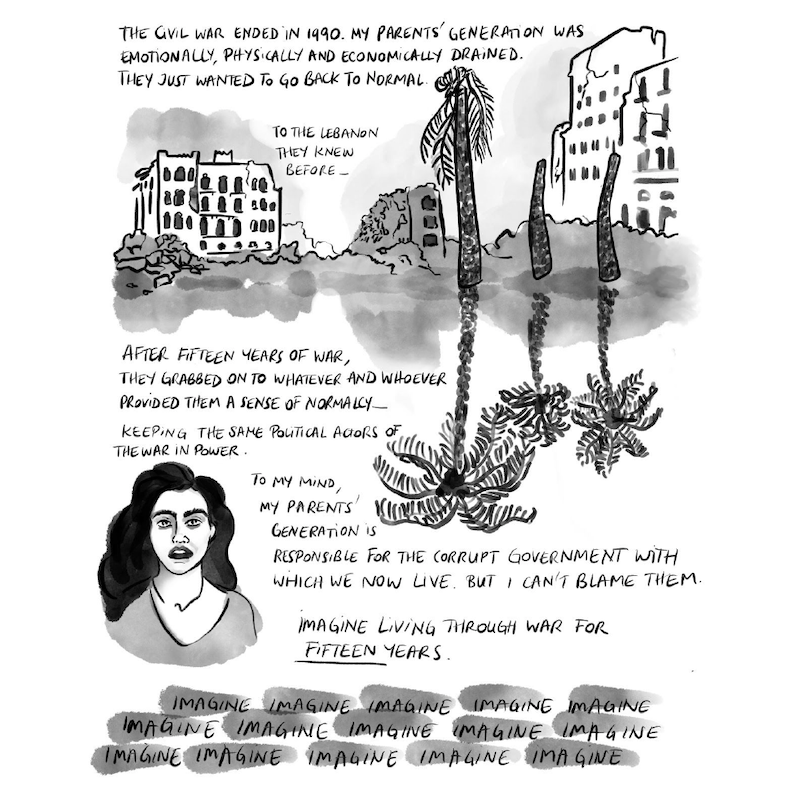 Graphic Novel 'Waiting for Normal,' Delacorte Review, image 3
