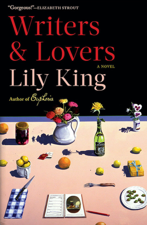 """<strong>Lily King, <a href=""""https://bookshop.org/a/132/9780802148537"""" target=""""_blank"""" rel=""""noopener""""><em>Writers & Lovers</em></a>; cover design by Kelly Winton (Grove, March)</strong>"""