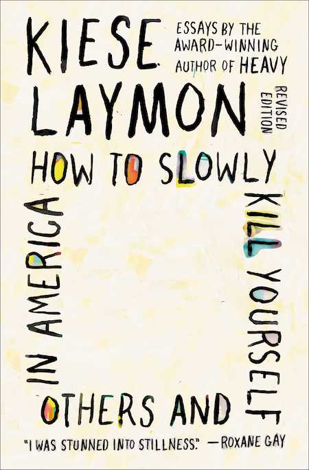 """<strong>Kiese Laymon, <a href=""""https://bookshop.org/a/132/9781982170820"""" target=""""_blank"""" rel=""""noopener""""><em>How to Slowly Kill Yourself and Others in America</em></a>; cover design by Jaya Miceli (Scribner, November)</strong>"""