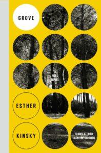 Esther Kinsky, Grove: A Field Novel