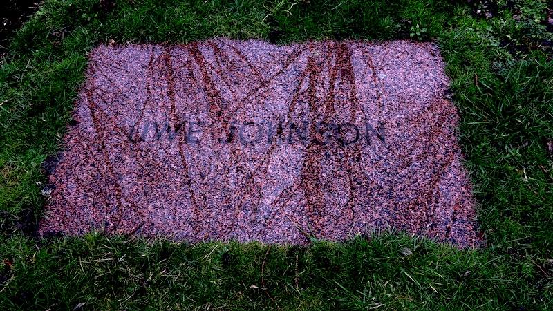 UJ's stone (Shona Illingworth)