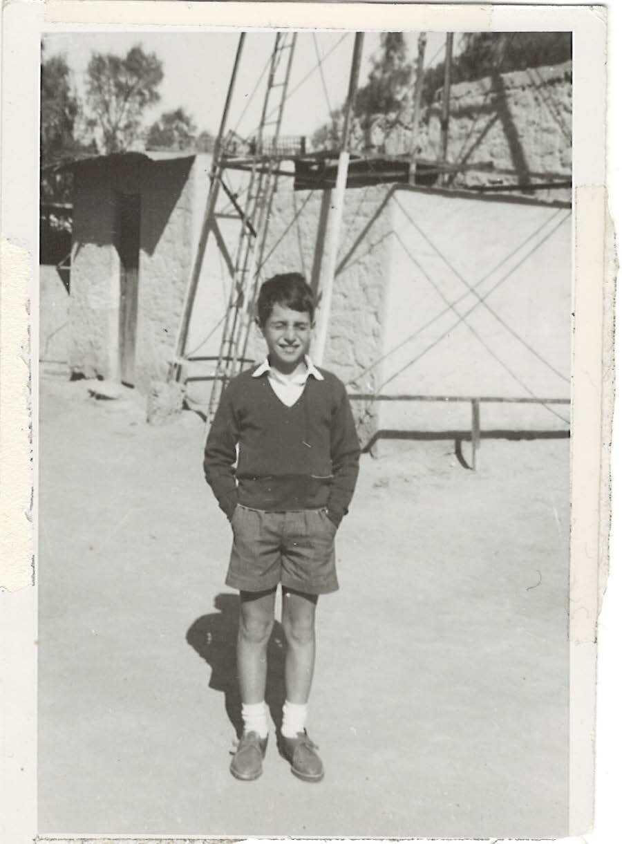 Andre Aciman as a boy