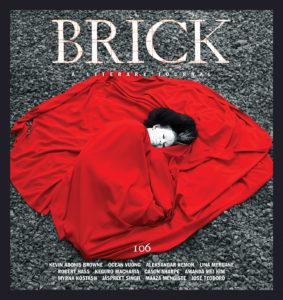 Brick, A Literary Journal issue 106