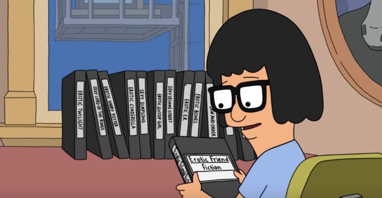 Bob's Burgers_Tina writing
