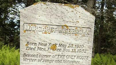 Margaret Wise Brown tombstone