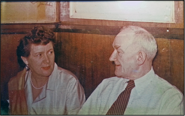 Norma Stephenson and Tim Costello