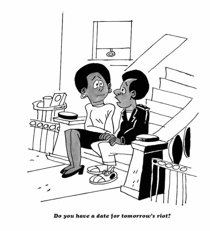 Black Humor, Charles Johnson