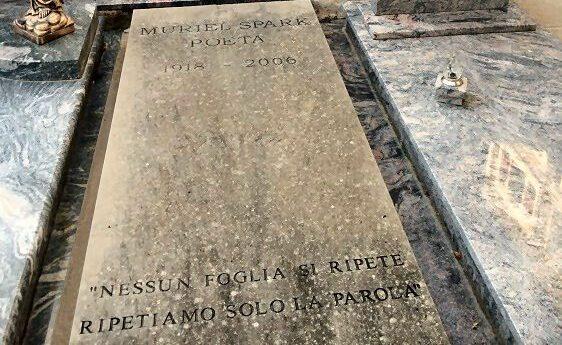 Muriel Spark tombstone