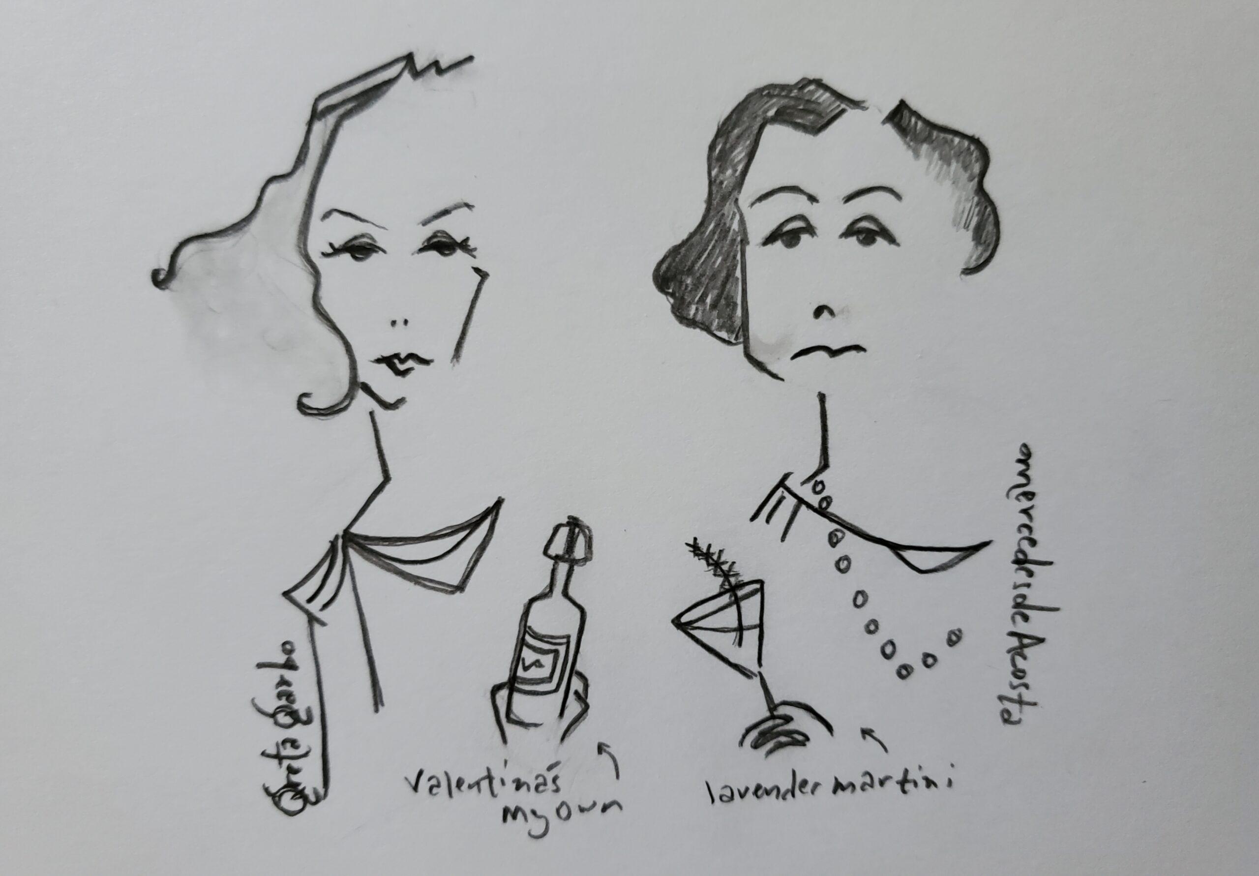 Greta Garbo & Mercedes de Acosta