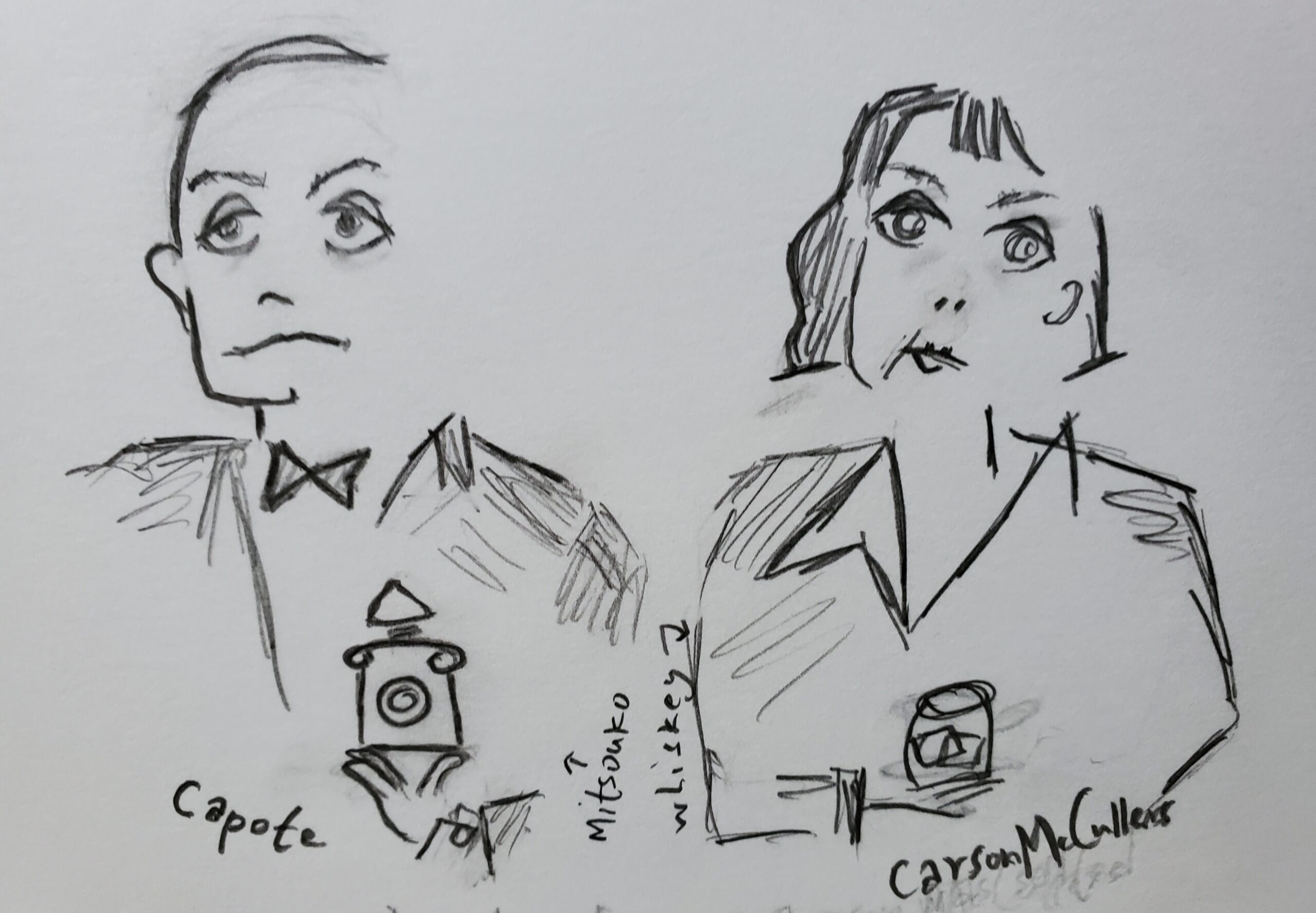 Truman Capote & Carson McCullers