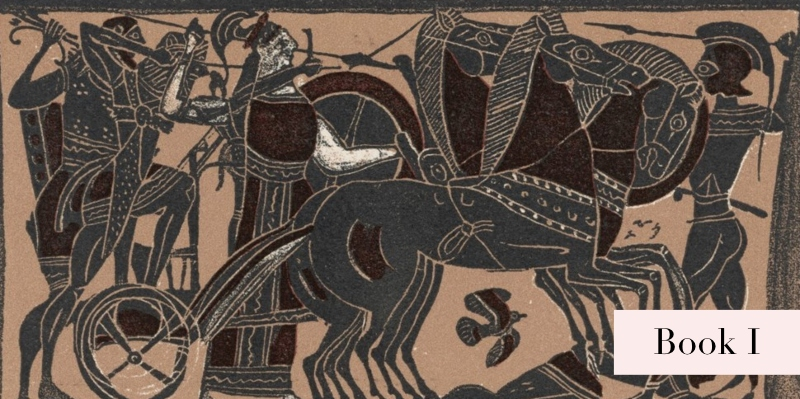 The Iliad: Book 1 by Homer, Read by Anton Lesser