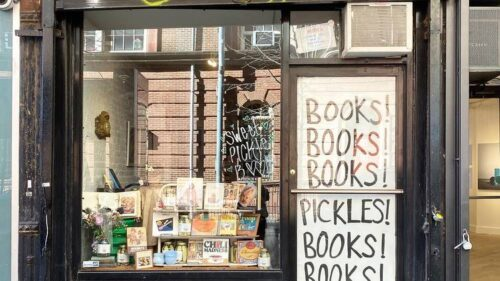 sweet pickle bookstore