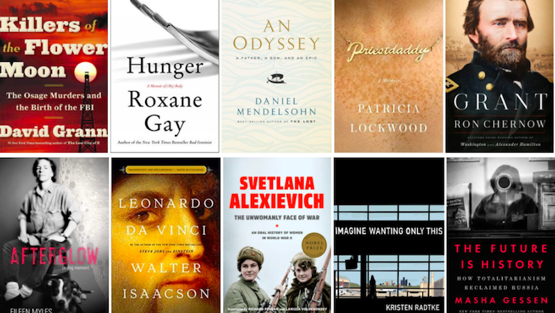 The Best Reviewed Nonfiction of 2017