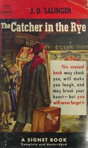the first reviews of the catcher in the rye  book marks holdens story is told in holdens own strange wonderful language by j  d salinger in an unusually brilliant novel  holden is bewildered lonely