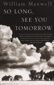 So Long See You Tomorrow