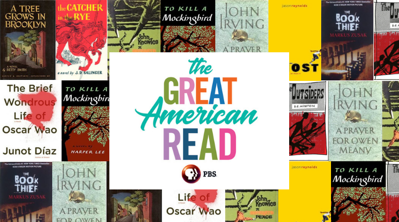 The Great American Read Who Am I Book Marks