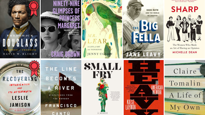 The Best Reviewed Books Of 2018 Memoir And Biography Book Marks