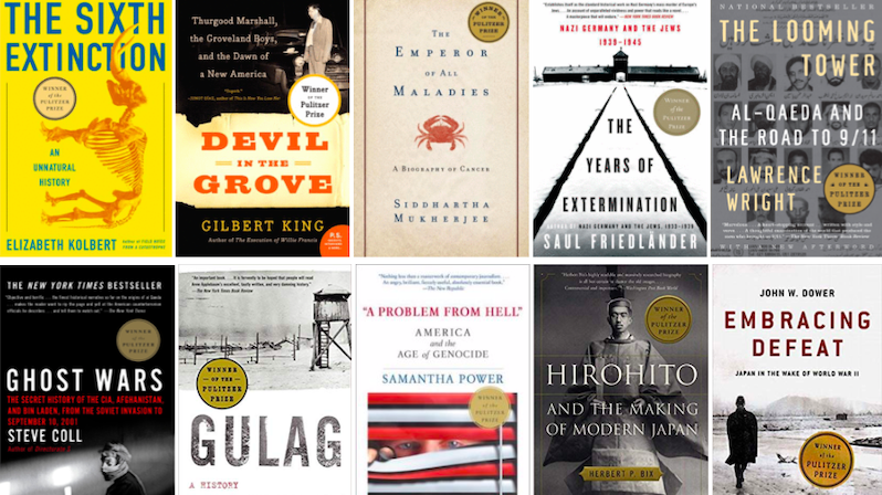 Every Pulitzer Prize for Nonfiction Winner of the 21st Century