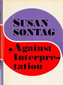 Against Interpretation bySusan Sontag