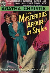 Christie Mysterious Affair at Styles Avon 1951