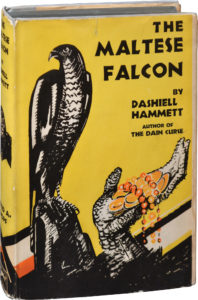Hammett Maltese Falcon 1st Knopf 1930 Credit Royal Books