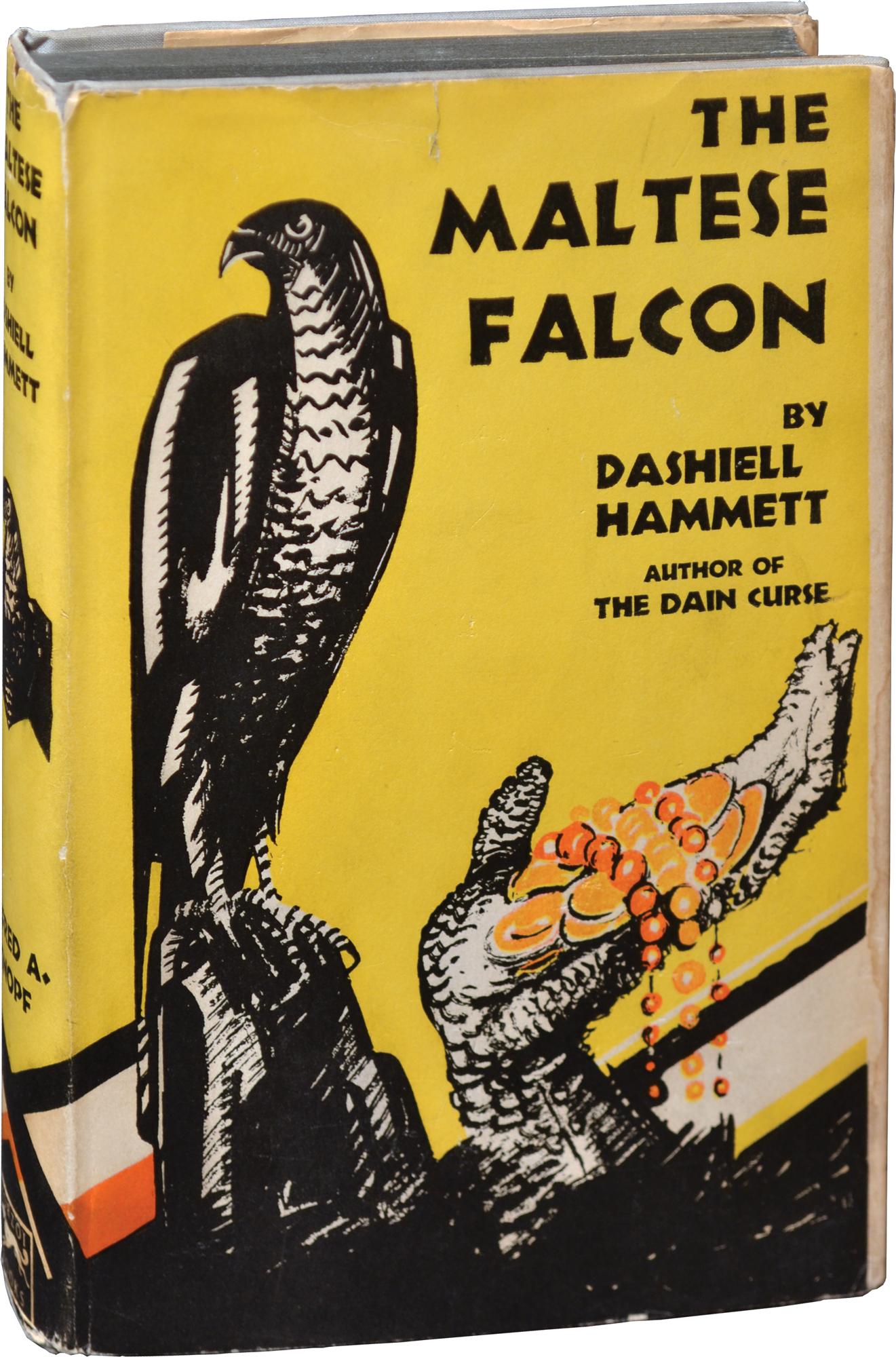 Hammett Maltese Falcon 1st Knopf 1930 Credit Royal Books