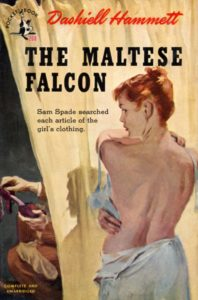 Hammett Maltese Falcon Pocket Book 1945