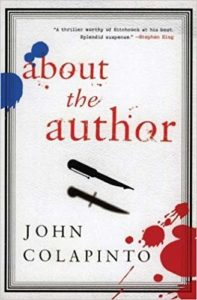 About the Author John Colapinto