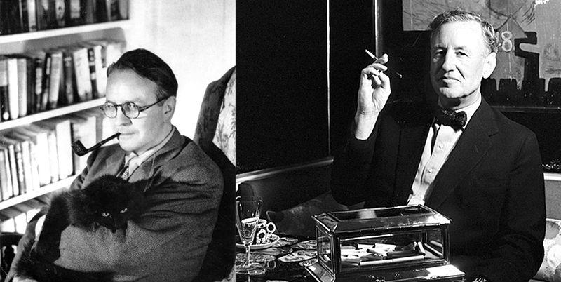 Ian Fleming and Raymond Chandler