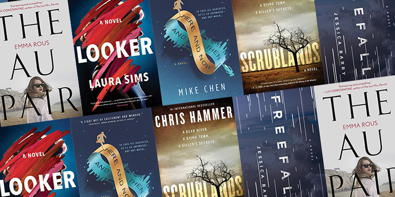 January's Best Debut Thrillers and Crime Novels - 5 New Authors Breaking into the World of Crime
