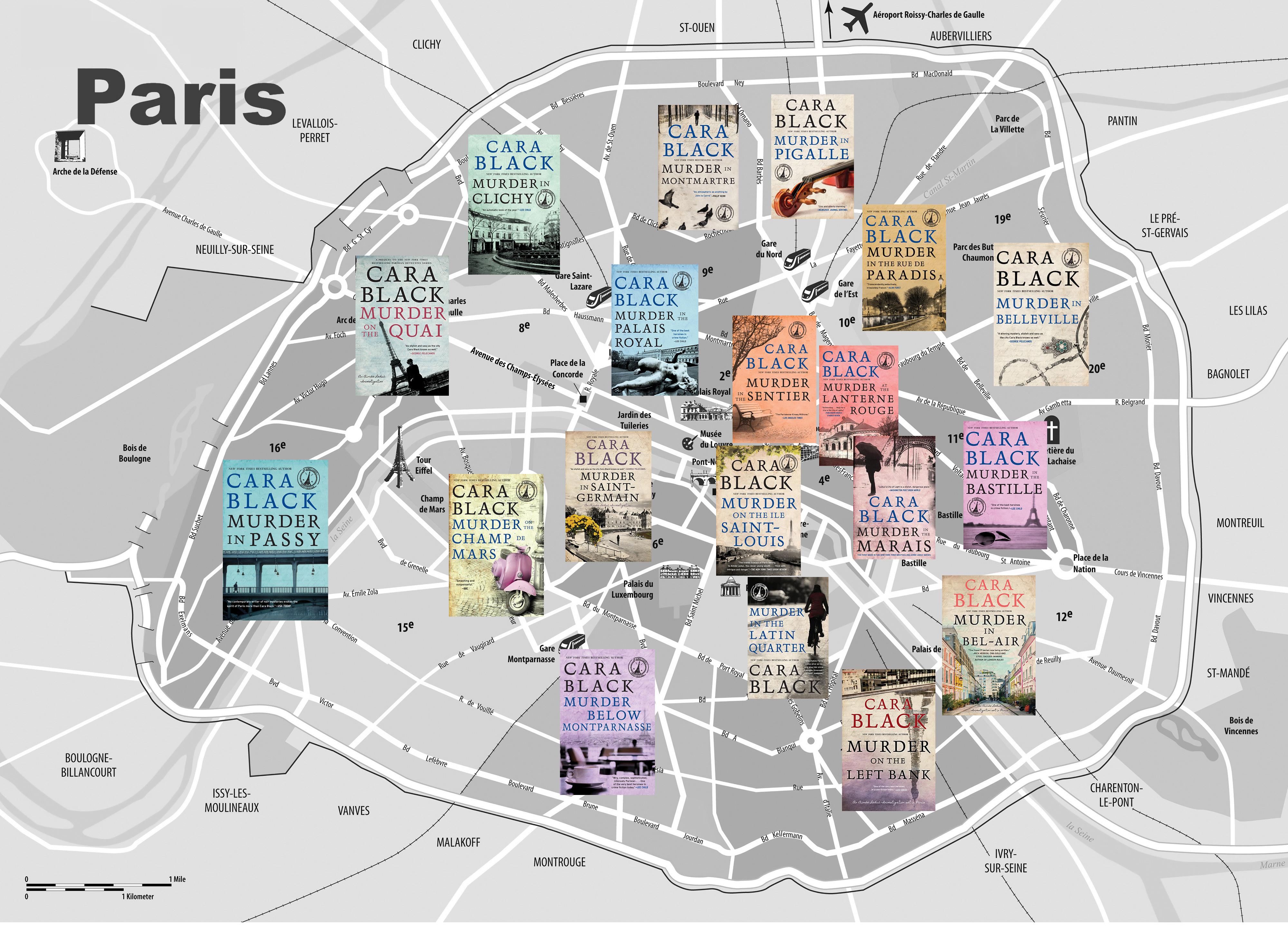 Three Hours In Paris Cara Black