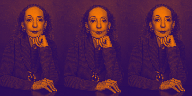 Joyce Carol Oates Talks Crime Fiction, Character, and Cats