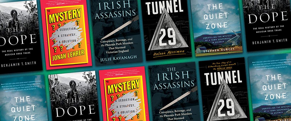 The Month's Best Nonfiction Crime Books